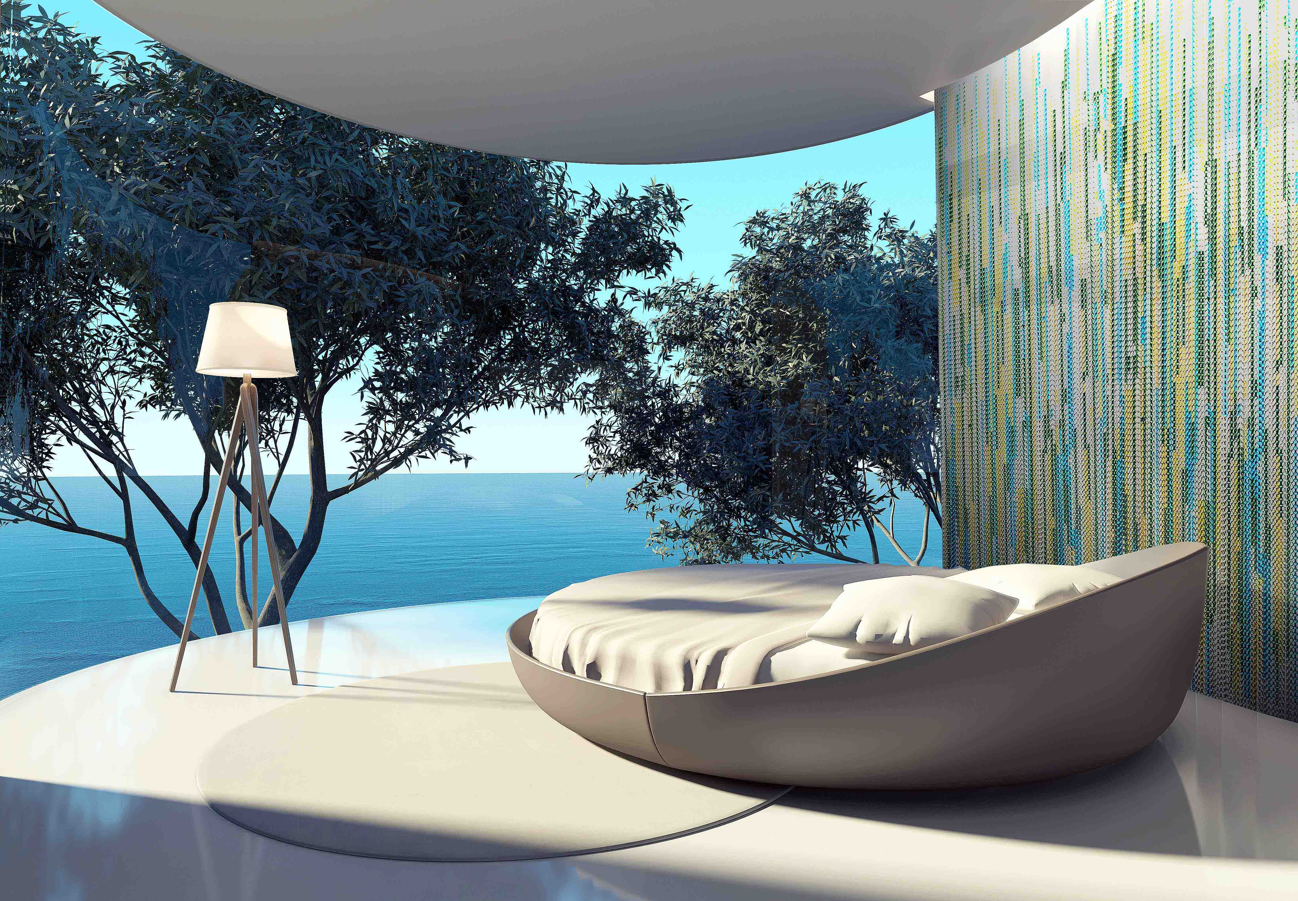 Kriska decor, curtain collections, Claire Davies designer,sea front